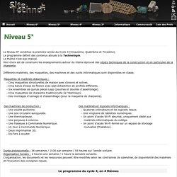 Sitetechno.fr / Niveau 5°