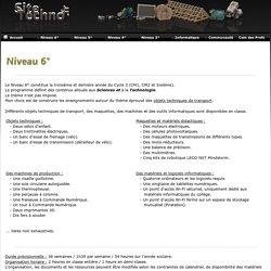 Sitetechno.fr / Niveau 6°