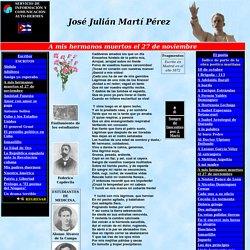 Sitio de José Martí. Poeta