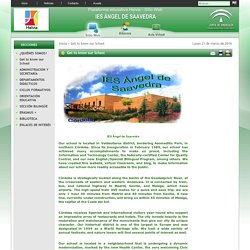 Sitio Web de IES ÁNGEL DE SAAVEDRA