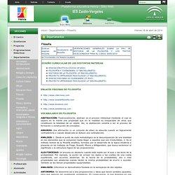 Sitio Web de IES Zaidín-Vergeles