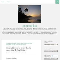 Sitiographie pour se lancer dans la préparation de l'agrégation – menrvablog