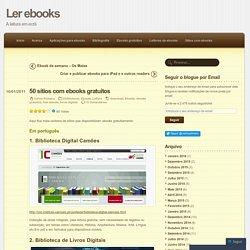 50 sítios com ebooks gratuitos