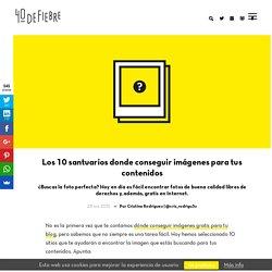 10 sitios donde conseguir fotos para tus contenidos