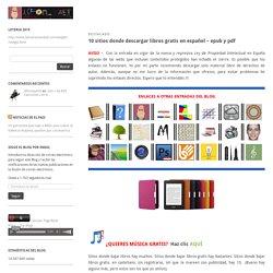 10 sitios donde descargar libros gratis en español – epub y pdf