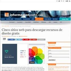 Cinco sitios web para descargar recursos de diseño gratis
