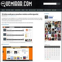 10 sitios web para escuchar música online (gratis)