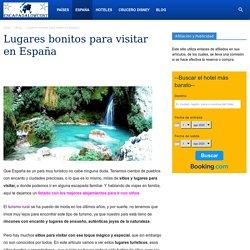 Los 30 Sitios y Lugares más bonitos para Visitar en España□