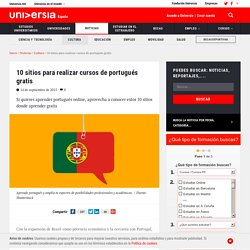 10 sitios para realizar cursos de portugués gratis