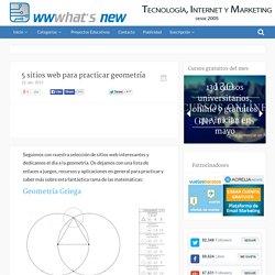 5 sitios web para practicar geometría