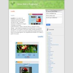 Sitios Web y Programas: LunaPic