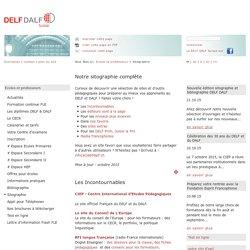 Sitographie: DELF DALF Suisse