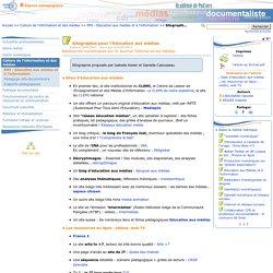Sitographie pour l'Education aux médias - Les Enseignants Documentalistes de l'Académie de Poitiers