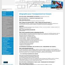 Sitographie pour l'enseignement du français - Institut français de Lituanie