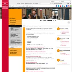 Sitographie FLE