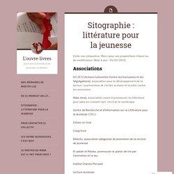 Sitographie : littérature pour la jeunesse