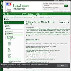 Sitographie pour Phèdre de Jean Racine — Théâtre