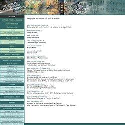 Sitographie arts visuels : les sites de musées