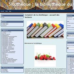 Sitothèque : la bibliothèque du web