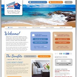 Aussie House Sitters - House sitting in Australia and New Zealand