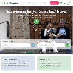 House Sitting & House Sitter Jobs | Dog, Cat & Pet Sitting | TrustedHousesitters.com