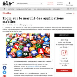 La situation du marché des applications mobiles