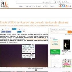 Étude EGBD : la situation des auteurEs de bande dessinée