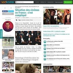 Situation des cinémas en France : c'est compliqué