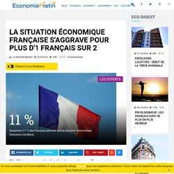 La situation économique française s'aggrave pour plus d'1 Français sur 2