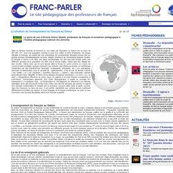 La situation de l'enseignement du français au Gabon
