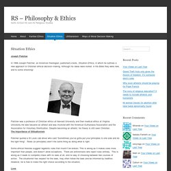 RS - Philosophy & Ethics