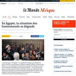 En Egypte, la situation des homosexuels se dégrade