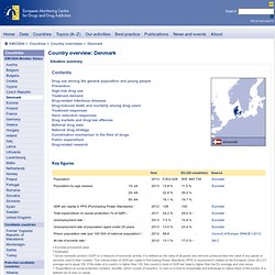 Situation summary for Denmark — up to date summary of the national drug situation in Denmark (Country overviews)