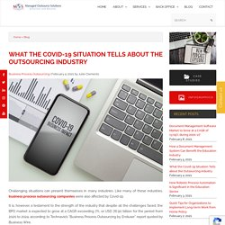 What the Covid-19 Situation Tells about the Outsourcing Industry