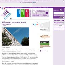 Mal-logement : une situation toujours préoccupante, Mal-logement : une situation toujours préoccupante. A la une, vie-publique.fr
