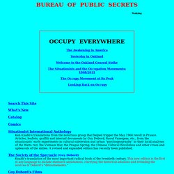 Bureau of Public Secrets - situationist texts and translations