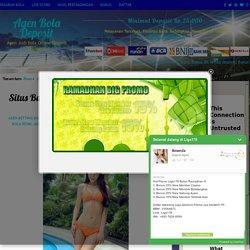 Situs Bandar Judi Online Bonus Deposit 25000