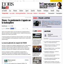 Sivens: la gendarmerie s'appuie sur la fachosphère - Rue89 - L'Obs