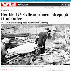 Her ble 193 sivile nordmenn drept på 11 minutter - De falne (1939-1945)