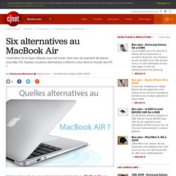 Six alternatives au MacBook Air -
