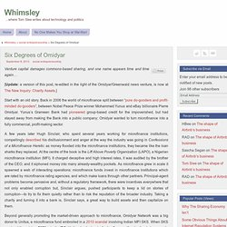 Six Degrees of Omidyar - Whimsley