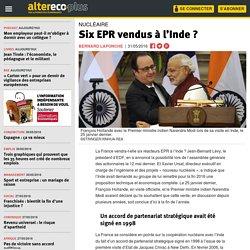 Six EPR vendus à l'Inde