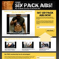 Six Pack Abs, Ripped Abs, HOW TO GET SIX PACK ABS IN 16 WEEKS OR LESS