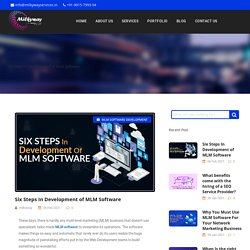 Six Steps In Development of MLM Software