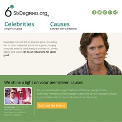 SixDegrees.org | It's a small world. You can make a difference.