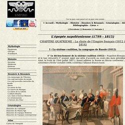 La sixième coalition, la campagne de Russie (1812)