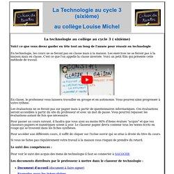 Sixième -cycle3- élèves