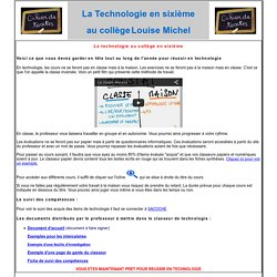 Classe inverse, fusée a eau : Cahier_de_textes_sixieme