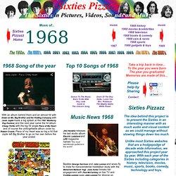 Multimedia Sixties 1968 Music - A retro nostalgia look at music