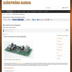 Sjöström Audio - JSR01 Sjöström Super Regulator